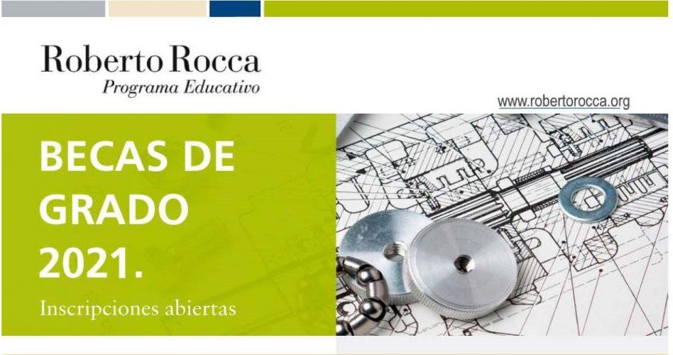Difusión Becas Roberto Rocca - UTN FRD