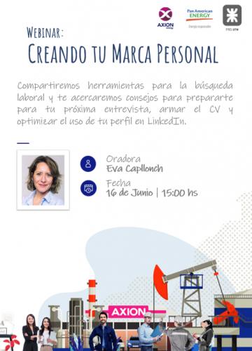 Flyer - Webinar Marca Personal (16.06)