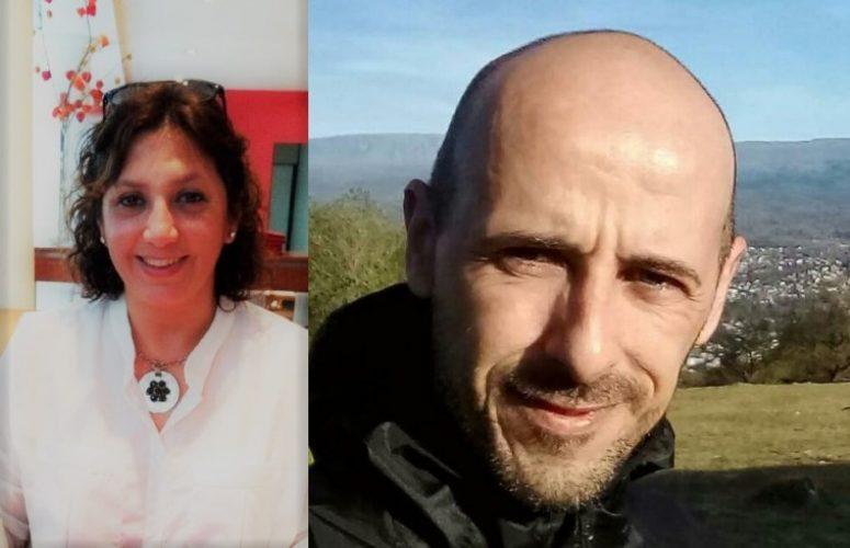 Karen Villalba y Sergio Vera